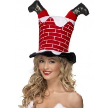 santa-stuck-in-chimney-hat